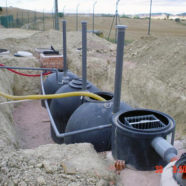 Estación depuradora de Oxidación Total de 50 EQH