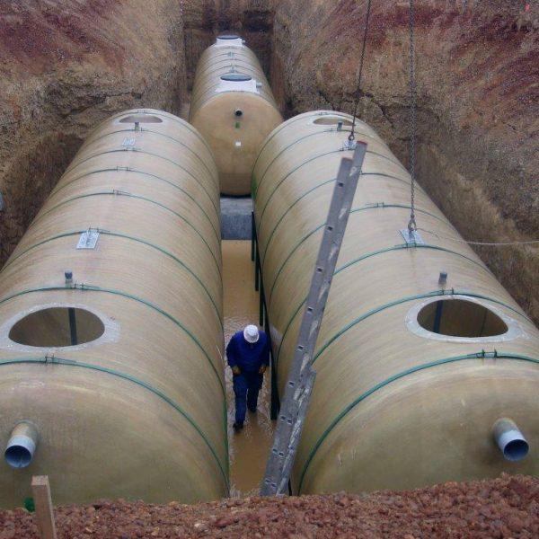 Estación depuradora Oxidación total para 750 EQH